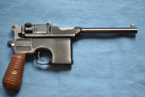 Mauser Broomhandle Model Pistol, 9mm cal
