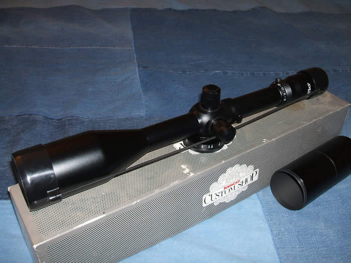 Tasco 10X-50X56mm Target Riflescope from the Tasco Custom Shop
